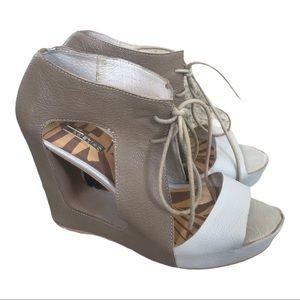 Matiko heeled lace up sandal women's 7